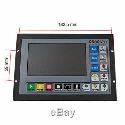 CNC 4 / 3 Axis 500KHz Motion Offline Controller System+MPG Handwheel Mental Case