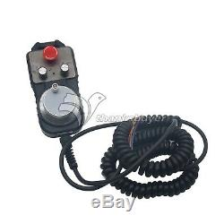 CNC 4-Axis Motion Controller 500KHz Stepper Motor Driver DDCSV1.1+MPG Handwheel