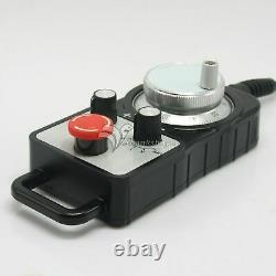CNC 4-Axis Motion Controller 500KHz Stepper Motor Driver DDCSV2.1+MPG Handwheel