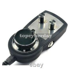 CNC 4-Axis Motion Controller Stepper Motor Driver+6 Axis Handwheel MPG Stop