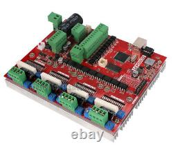 CNC 4 Axis USB Mach3 Stepper Motor Driver+Controller Interface Board Card 2 In 1