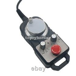 CNC 4Axis Motion Controller 500KHz Stepper Motor Driver DDCSV2.1 with Handwheel