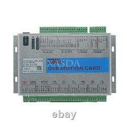 CNC 6 Axis Motion Control Card Breakout Board USB 2MHz Mach4 for Machine Centre