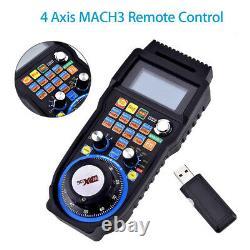 CNC MACH3 4 Axis Handheld Electronic Handwheel Controller, Manual Machine Handle