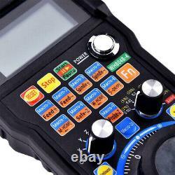 CNC MACH3 4 Axis Portable Electronic Handwheel Controller Manual Machine Handles