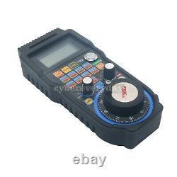 CNC MACH3 Wireless Electronic Handwheel 6-Axis Manual Controller USB Handle MPG