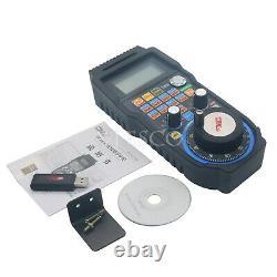 CNC MACH3 Wireless Electronic Handwheel 6-Axis Manual Controller USB MPG #100PPR