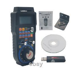 CNC MACH3 Wireless Electronic Handwheel 6-Axis Manual Controller USB MPG -UK
