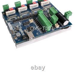 CNC USB Mach3 4 Axis TB6600 Stepper Motor Driver Controller 2 in1 Board 200KHz