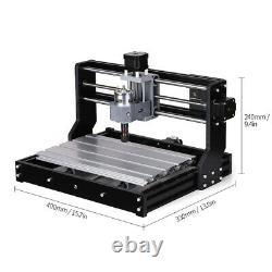 CNC3018 DIY CNC Router Kit 5500mw Laser Engraving Machine GRBL Control 3 Axis