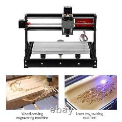 CNC3018 PRO CNCRouter Kit Laser Engraving Machine GRBL Control 3 Axis PCB WithER11