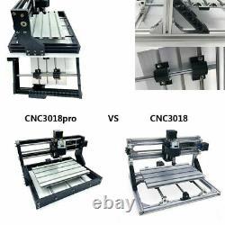 CNC3018 PRO DIY CNC Router Kit Engraving Machine GRBL Control 3 Axis PCB PVC