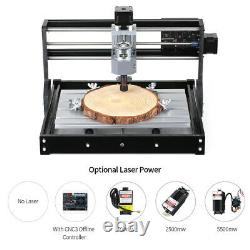 CNC3018 PRO DIY CNC Router Kit Mini Engraving Machine GRBL Control 3 Axis B6Y1