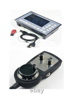 DDCSV1.1 CNC Control System USB 500KHz 4 Axis Motion Controller + MPG Handwheel