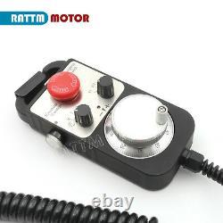 DE 4-Axis Motion Controller Offline Stand Alone CNC Control System+Handwheel MPG