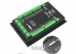 DE4 Axis DDCS Expert Offline CNC Standalone Motion Controller PLC&MPG Handwheel