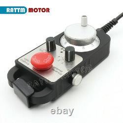 DE4 Axis Offline Motion Controller System G Code CNC Milling Lathe Machine +MPG