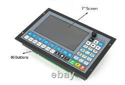 DEDDCS EXPERT 4 Axis CNC Standalone Offline Controller+MPG Handwheel(Plug&play)