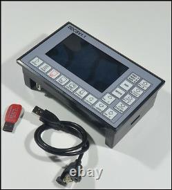 Driver4 Axis CNC Control System G Code Engraving Machine controller 500K
