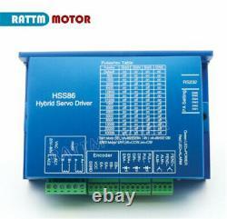 ES 3 Axis CNC Nema 34 8N. M closed loop stepper motor driver+offline controller