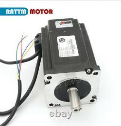 EU 3 Axis 8Nm Nema34 Closed Loop Servo Motor Driver +Offline CNC Controller Kit