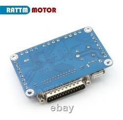 EU 3 Axis Nema23 Stepper Motor Driver Breakout Board Mach3 CNC Controller Kit