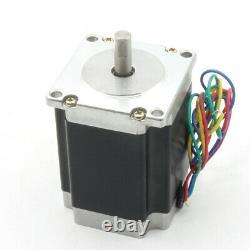 EU3 Axis CNC Controller Kit Nema23 Stepper Motor Driver 270oz 3A Mach3 Board