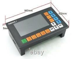 EU4 Axis 500KHz CNC Offline PLC Motion Controller System G Code for CNC Router