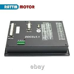 EU4 Axis DDCS V3.1 Standalone Motion Offline Mach3 CNC Controller TFT Screen