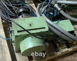 Eimeldingen 5/2-220 200MM 4th Axis Rotary Table with Yuasa UDNC-100 Controller