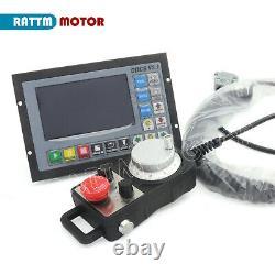 FRA4 Axis DDCSV3 Offline Motion CNC Engraving Controller System +MPG Handwheel