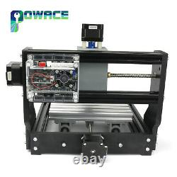 GB&DE3 Axis 1610 Pro Max CNC Engraver DIY GRBL Control Mini Machine PCB Milling