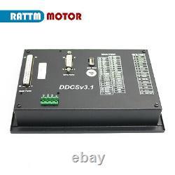 GBDDCS V3.1 Offline Stand-alone 4Axis CNC Controller G Code PLC+ Handwheel MPG