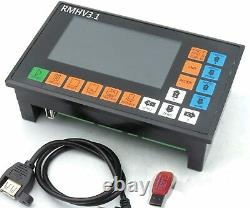 Ger 4 Axis 3.1 Stand alone Motion Offline CNC Controller System +MPG Handwheel