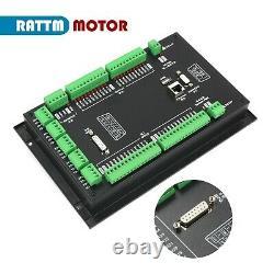 Ger 4 Axis Handwheel MPG 1000KHz Offline Motion CNC Controller PLC DDCS Expert