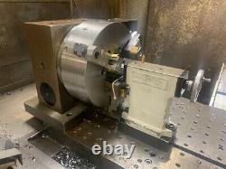 Haas 4th Axis Rotary Table with Tailstock & Controller, OFF MONARCH CNC, Used