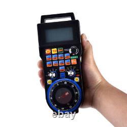 Handheld CNC MACH3 4 Axis Wireless Handwheel Controller Manual Generator Remote