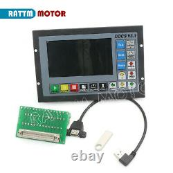 ITDDCSV3.1 Updated Offline Engraver Machine 4Axis Motion CNC Controller G Code