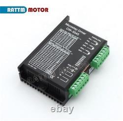 In DE4 Axis Schrittmotor Mach3 Controller Nema23 Stepper Motor Driver CNC Kit