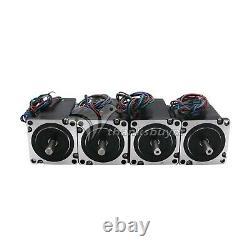 MACH3 CNC 4-Axis Kit (Stepper Motor Controller+4pcs Stepper Motor+Power Supply)#