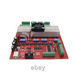 MACH3 CNC 4-Axis Kit TB6560 Stepper Motor Controller+4pc Nema23 Stepper Motor 57