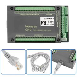 MACH3 Motion Control Card NVEM CNC Controller 6 Axis Ethernet Interface Motion