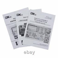 Mach3 4 Axis CNC Motion Control USB Card Breakout Board 400KHz Support Windows7