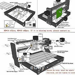 Max Engraving Machine, Mini 3 Axis CNC Router Machine GRBL Control Wood