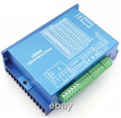 NEMA34 8N. M Servo Motor Driver 4 Axis Offline CNC Controller PLC DDCSV3.1 + MPG