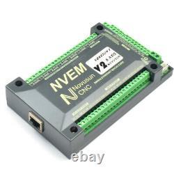 New NVUM NVEM CNC Controller 6 Axis MACH3 Ethernet Interface Board Card