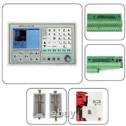 Offline CNC Controller 50KHZ 4 Axis Carving Machine Control System SMC4-4-16A16B