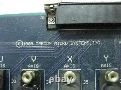 Oregon Micro Systems io38-8 8 Axis I/O CNC Drive Control 3D Motion Controller