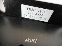 PROMESS EMAC CNC CONTROLLER 3-4 AXIS V2.1 - 100.240ac supply - 19069034