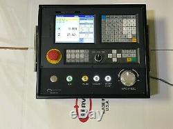 Servo 2 Axis Cnc Control For Lathe, With Enclosure, Sub-panel And Mounting Arm